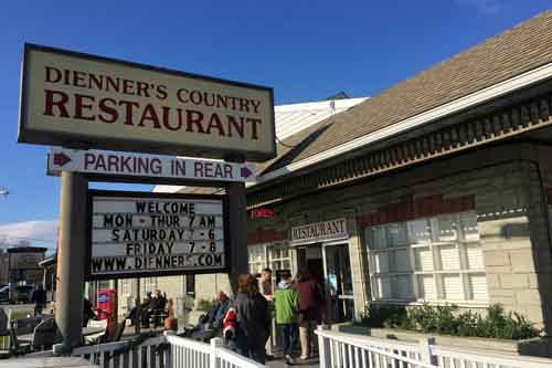 Dienner's Country Restaurant, Ronks, Lancaster County, PA